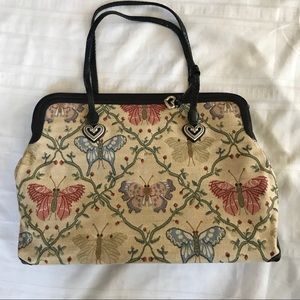New Brighton tote Butterfly Tapestry bag